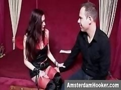 Amsterdam Prostitute Satisfying orally