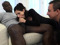 Cuckold Couple 3-way Interracial