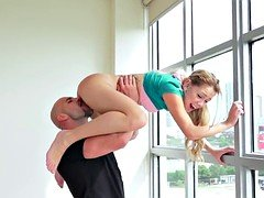 Newbie little teen lifted and additionally pussylicked