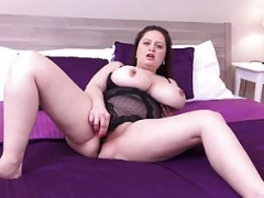 Sirale Slowly Strips & Gets down and dirty Her Hot Pussy!