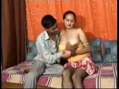 Desi, Indian, Twosome To Lesbo Threeso
