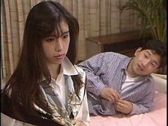 Youthful Japanese loves solo erotic