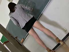 teacher upskirt