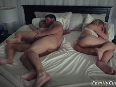 partners duddys daughter gang and milf  sex Stepdads Side Of The Bed