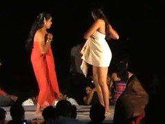 Nude stage dance in andhra india