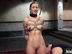 Sophia Locke enjoys some BDSM pleasures