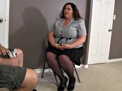 fat woman bound and gagged