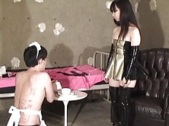 Japanese Female domination Face Trample and Facesitting