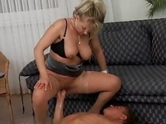 Vivia Nasty Hot German Mom i`d like to fuck Stockings