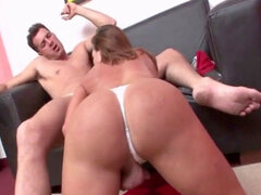 she-creature Hottie drills by Her guy