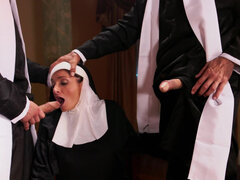Experienced nun Silvia Saige gets a special form of penance