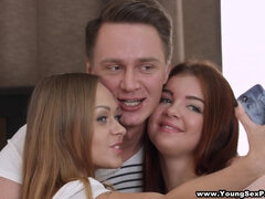 Katarina Muti and Renata Fox - Orchestrating a threeway