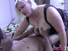 Titfucking Lacey Starr - interracial porn video