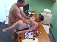 Yasmin Scott put to the test by pervy doctor