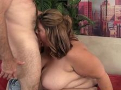Tittyfucking SSBBW banged on each and all fours