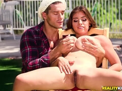 Filthy painter Ramon Nomar banged Ella Knox
