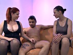 Pussy-on-face 3-way