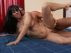Hot, Latin milf is cheating quite often