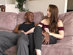Jessie Wylde and also huge black cock Mand alsoingo