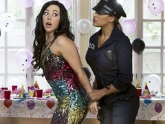 Mercedes Carrera , Whitney Wright in Party to Crime