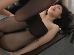 Awesome small titted oriental gal featuring hardcore sex video