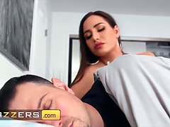Gorgeous wifey (Desiree Dulce) screwed by a big shaft