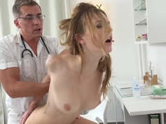 Dirty Doctor Fucks With Naked Czech Girl In His Cabinet