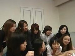 JAV CFNM Female domination Handjob Party Subtitled