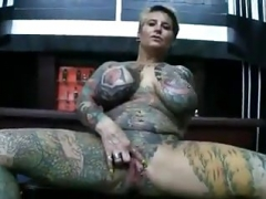 whole tattooed and pierced