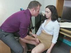 Whitney Wright Gets Fooled Into Fucking The Hiring Manager For A New Job!