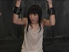 Choking and besides humiliating a JAV teen