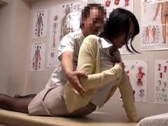 Naive Girl In Nylons Gets Pounded at Massage Treatment