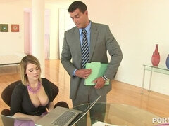 Hardcore office fucking gives busty Siri endless chills of XXX pleasure GP1051