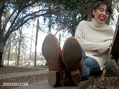 Miriam liquidates Her Winter shoes! (Full flick, not another preview video)
