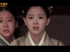 Asian historical feature-length film with naked Geishas