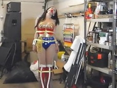 Wonder lady is captured & tutn into a Sex Robot