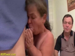 mature mitget first threesome