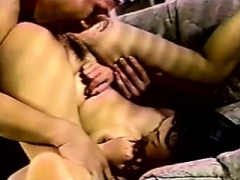 Vintage Bushy Asian Anal