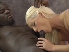 BLACK4K. Interracial coition is the best way for Blanche...