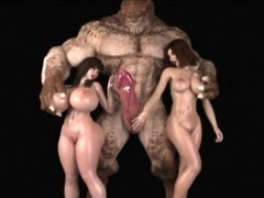 3D Ogres and besides Monsters Destroy Broads!