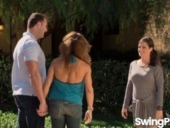 Non-pro swingers swapping partners in reality show